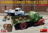 Немецкий грузовой автомобиль L1500S с продовольствием