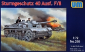 Немецкая САУ Sturmgeschutz 40 Ausf F/8