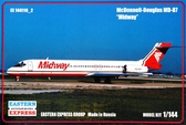 Пассажирский самолет MD-87 ''Midway''