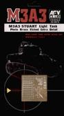 Фототравление для танка M3A3 ''Stuart'' от Afv-Club