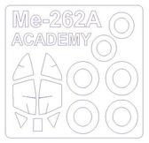 Маска для модели самолета Me-262A-1a (Academy)
