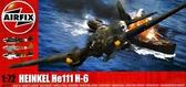 Бомбардировщик Heinkel He 111 H-6 от Airfix
