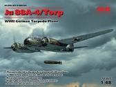 Немецкий торпедоносец Ju 88A-4 / Torp, 2МВ