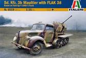 БТР Sd.Kfz. 3b Maultier с орудием Flak 38