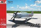 Учебно-тренировочный истребитель Як-11
