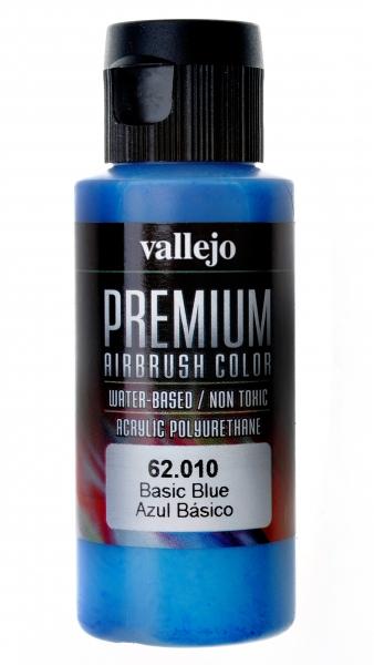 Краска акрил-полиуретановая ''Premium Color'', базовый синий Vallejo 62010