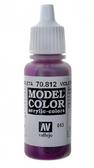 Краска акриловая ''Model Color'' 043 фиолетовая