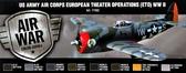 Набор красок ''Воздушный корпус США на европейском континенте, 2МВ'', 8 шт