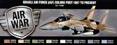 Набор красок ''Израильская авиация, 1967 года по настоящее время'', 8 шт