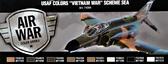 Набор красок ''ВВС США ''Война во Вьетнаме'' схемы палубной авиации'', 8 шт