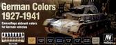 Набор красок ''Немецкие цвета, 1927-1941 г.'', 8 шт