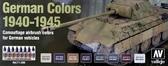 Набор красок ''Цвета немецкого камуфляжа'', 1940-1945 г.'', 8 шт