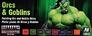 Набор красок ''Game color'' Орки и Гоблины (от Angel Giraldez), 8 шт Vallejo 72304 основная фотография