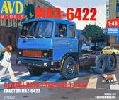 Седельный тягач МАЗ-6422, ранний