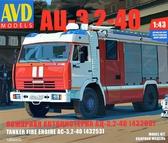 Пожарная автоцистерна АЦ-3,2-40 (43253)