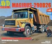 Самосвал Magirus-290D26K от AVD Models