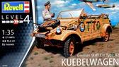 Немецкий штабной автомобиль Type 82 ''Kubelwagen''