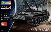 Средний танк T-55A/AM
