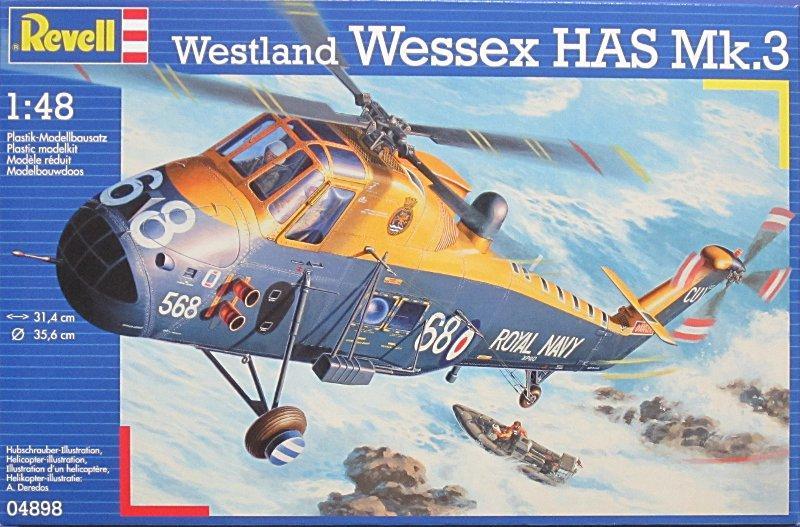 Вертолет Wessex HAS Mk.3 Revell 04898