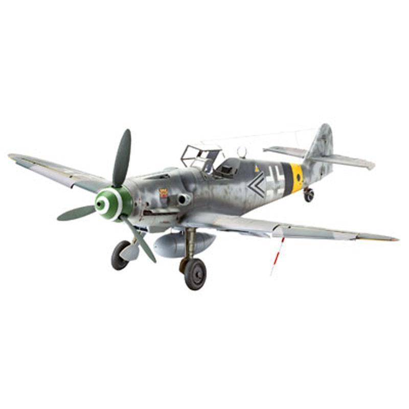 Истребитель Messerschmitt Bf109 G-6 Revell 04665