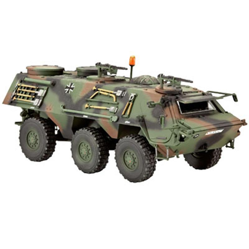Немецкий бронетранспортер TPz 1 Fuchs A4 Revell 03114