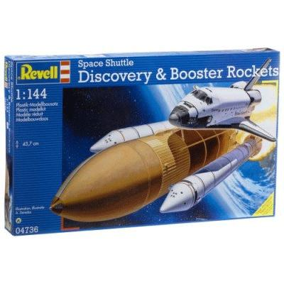 Спейс шаттл Discovery & Booster Rockets Revell 04736