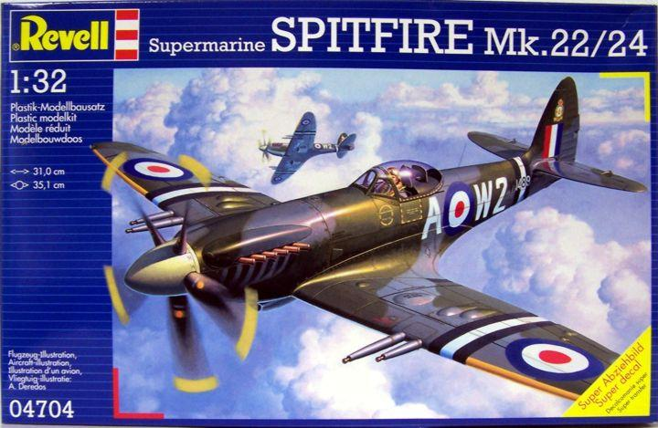 Истребитель Supermarine Spitfire Mk-22/24 Revell 04704