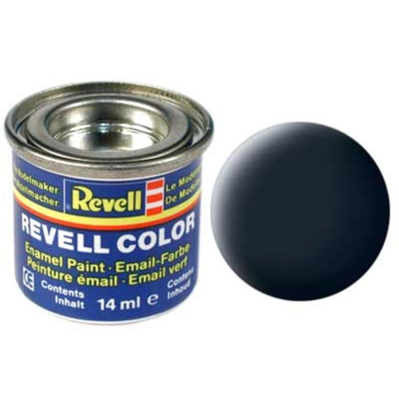 Краска  эмалевая, № 78 (серая танковая матовая) Revell 32178