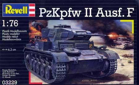 Танк Panzer II Ausf.F Revell(Ревелл) 03229