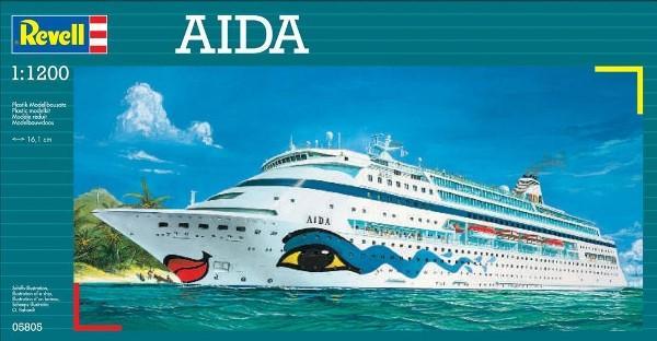 Круизное судно AIDA Revell 05805