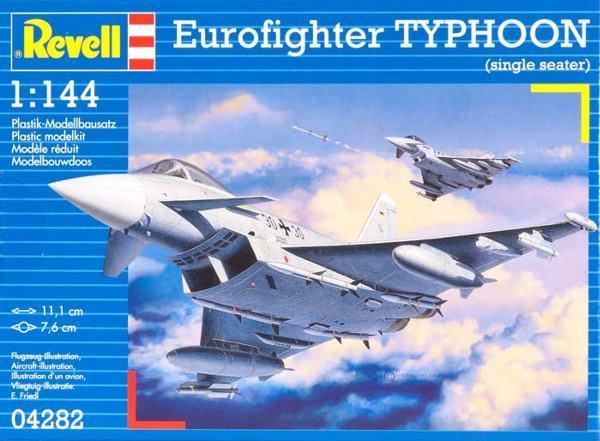 Многоцелевой истребитель Еврофайтер Тайфун Revell 04282