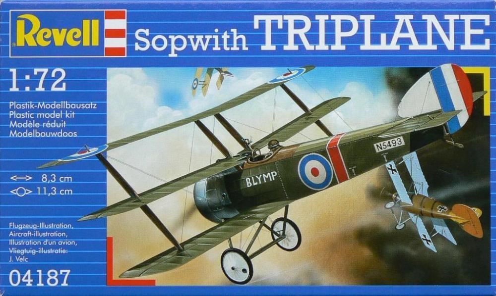 Триплан Sopwith Triplane Revell 04187