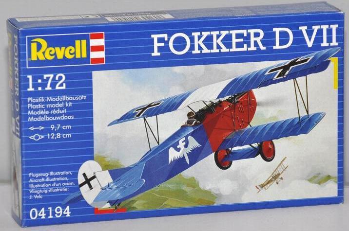 Скоростной истребитель Fokker D VII Revell 04194