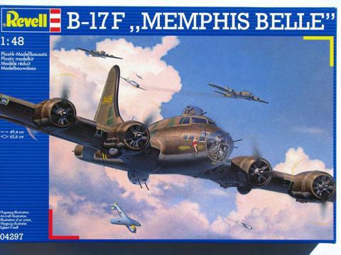 Сборная масштабная модель самолета Boeing B-17F 'Memphis Belle' Revell 04297