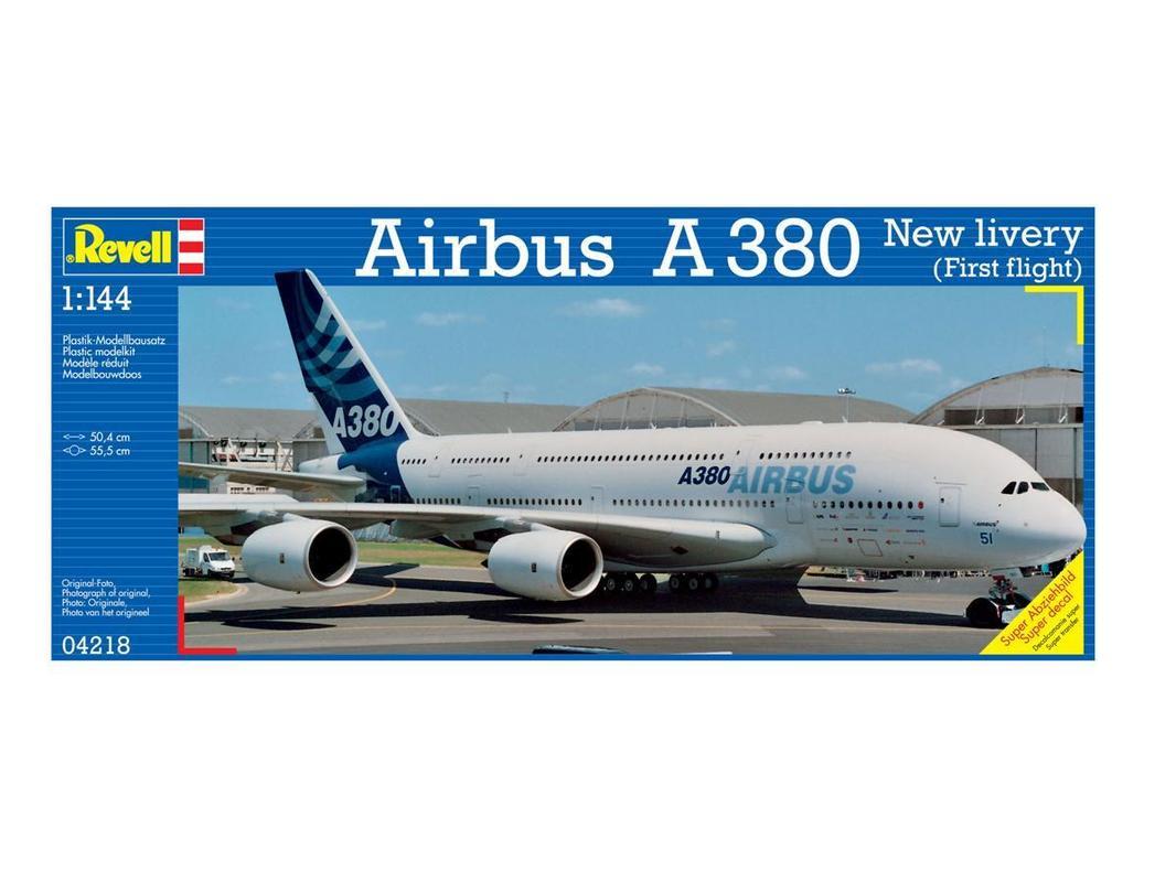 Пассажирский самолет Airbus A 380