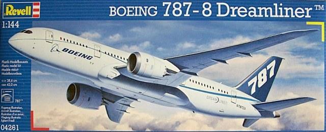 Пассажирский самолет Boeing Dreamliner 787-8 Revell 04261
