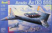 Бомбардировщик Arado Ar (Е) 555