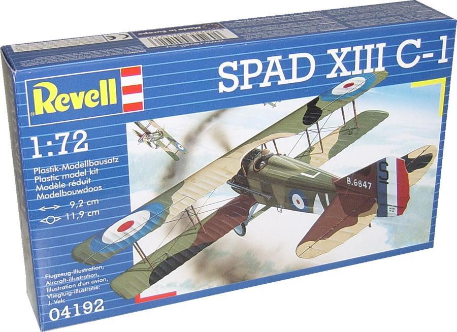 Истребитель Spad S.XIII Revell 04192