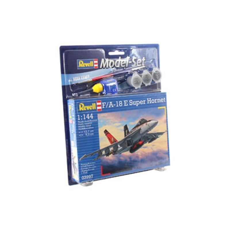 Подарочный набор с самолетом F/A-18E Super Hornet Revell 63997