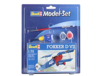 Подарочный набор с бипланом Fokker D VII Revell 64194