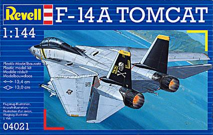 Истребитель-перехватчик F-14A Revell 04021