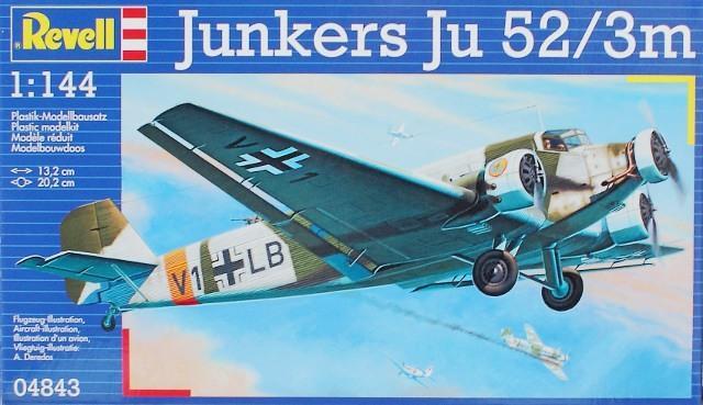 Пассажирский самолет Junkers Ju52/3m Revell 04843