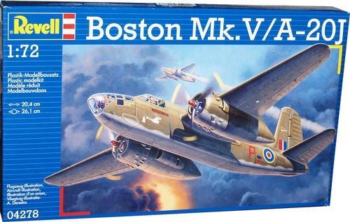 Бомбардировщик Boston Mk. IV / V Revell 04278