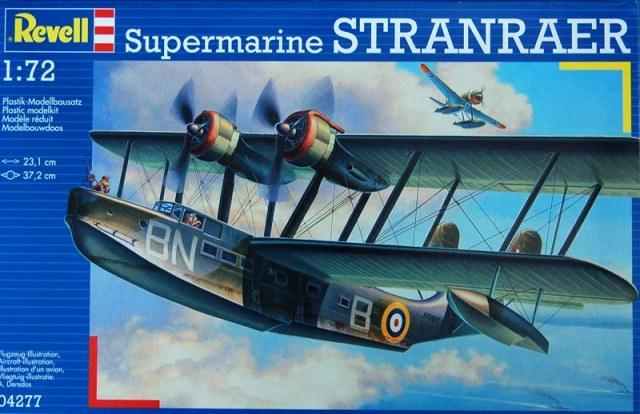 Британская летающая лодка Supermarine Stanraer Revell 04277
