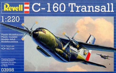 Военно-транспортный самолет Transall C-160 Revell 03998