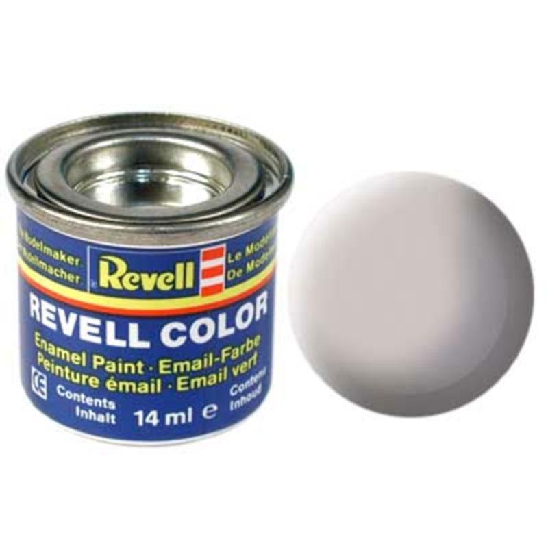Краска  эмалевая, № 43 (серая матовая) Revell 32143