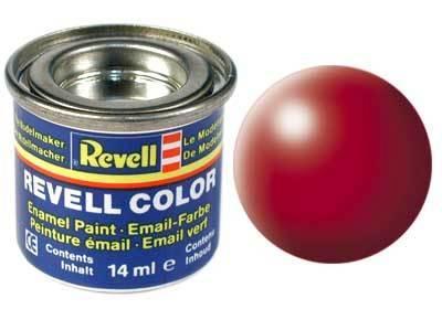 Краска  эмалевая, № 330 (шелковисто-огненно-красная матовая) Revell 32330