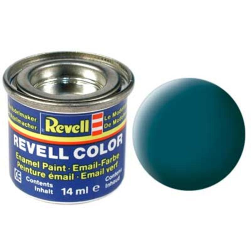 Краска  эмалевая, № 48 (цвета морской волны матовая) Revell 32148