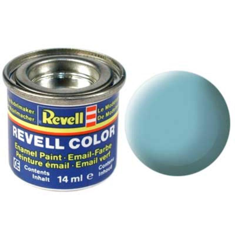 Краска  эмалевая, № 55 (светло-зеленая матовая) Revell 32155