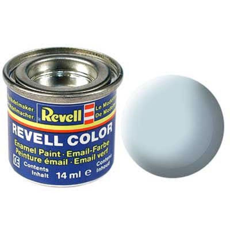 Краска  эмалевая, № 49 (светло-синяя матовая) Revell 32149